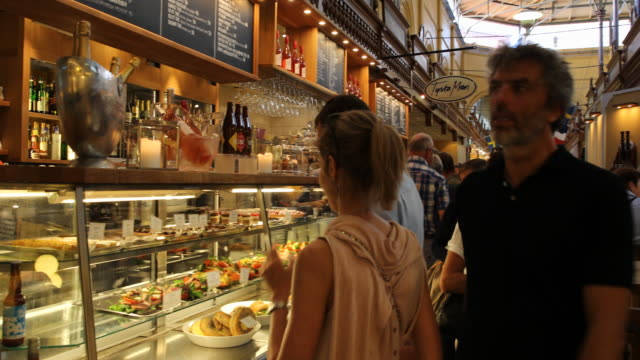 östermalms saluhall in stockholm, sweden - swedish culture stock videos & royalty-free footage