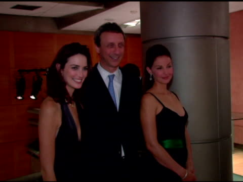 H Stern representatives and Ashley Judd at the H Stern Launch of the Stern Star Diamond at H Stern 5th Avenue in New York New York on October 10 2006