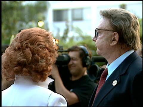 vídeos y material grabado en eventos de stock de steve allen at the 1996 emmy nomination party at the marque hotel in westwood california on september 4 1996 - westwood