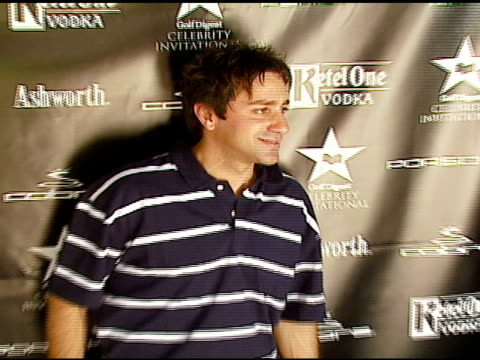 Steve Azar at the Golf Digest Celebrity Invitational at Cabana Club at the Wilshire Country Club in Los Angeles California on November 6 2006