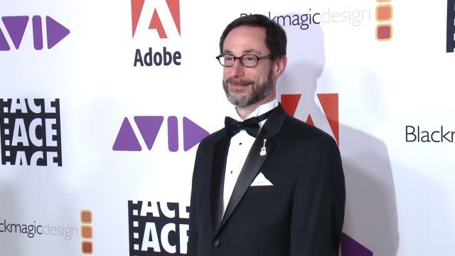 Steve Bloom at 68th Annual ACE Eddie Awards in Los Angeles CA