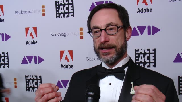 INTERVIEW Steve Bloom on how he's feeling tonight on if this nomination means more to him because it was voted on by his peers at 68th Annual ACE...