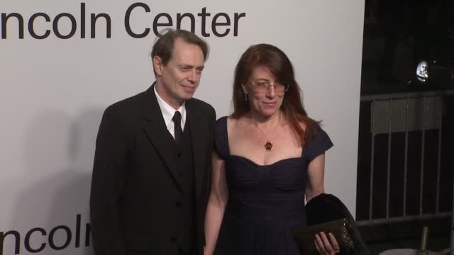 steve buscemi and jo andres at the lincoln center presents an evening with ralph lauren hosted by oprah winfrey at new york ny - steve buscemi stock videos & royalty-free footage