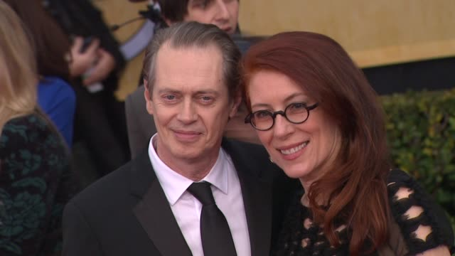 steve buscemi at 19th annual screen actors guild awards arrivals on 4/12/13 in los angeles ca - steve buscemi stock videos & royalty-free footage