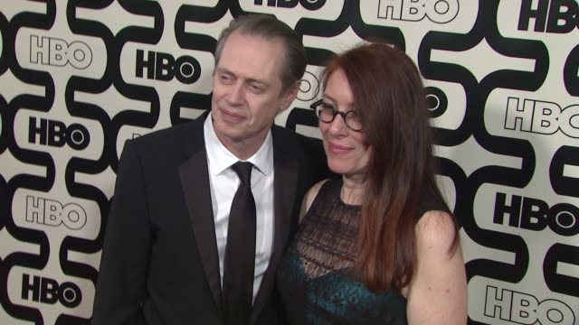 steve buscemi at hbo's 70th annual golden globes after party in los angeles ca on 1/13/13 - steve buscemi stock videos & royalty-free footage