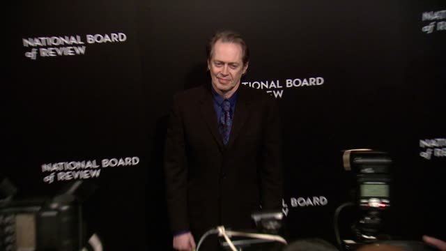 steve buscemi at national board of review awards gala at cipriani 42nd street on in new york usa - steve buscemi stock videos and b-roll footage