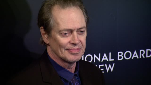 steve buscemi at national board of review awards gala at cipriani 42nd street on in new york, usa - steve buscemi stock videos & royalty-free footage