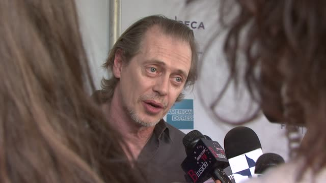 steve buscemi at the 8th annual tribeca film festival 'blank city' premiere at new york ny - steve buscemi stock videos & royalty-free footage