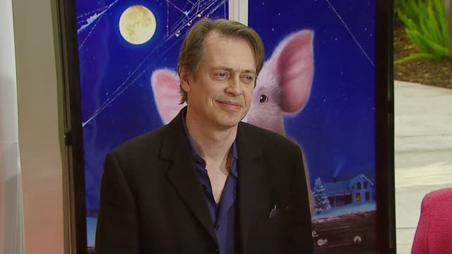 steve buscemi at the 'charlotte's web' los angeles premiere at arclight cinemas in hollywood california on december 10 2006 - steve buscemi stock videos and b-roll footage