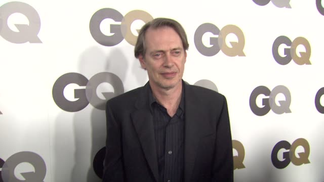 steve buscemi at the gq's 'men of the year' party at los angeles ca. - steve buscemi stock videos & royalty-free footage