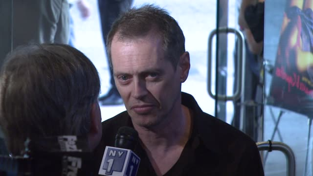 steve buscemi at the 'romance cigarettes' premiere at clearview chelsea west cinema in new york new york on august 30 2007 - steve buscemi stock videos and b-roll footage
