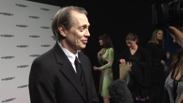 steve buscemi at the sky atlantic hd launch at london england - steve buscemi stock videos and b-roll footage