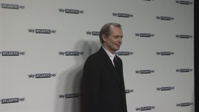 steve buscemi at the sky atlantic hd launch: at london england. - steve buscemi stock videos & royalty-free footage