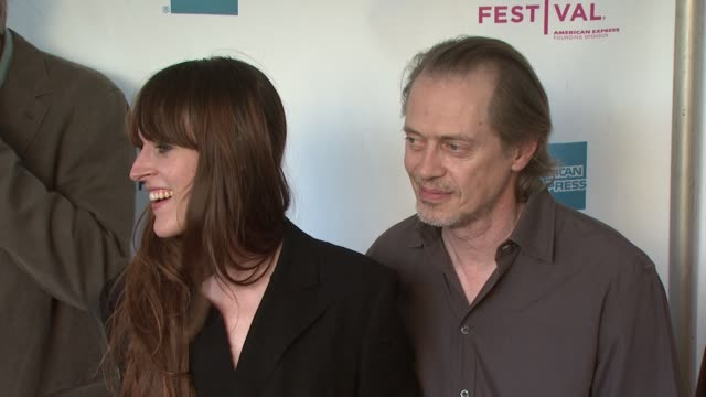 steve buscemi celine danhier amos poe marcia resnick pat place beth b james nares and michael mcclard at the 8th annual tribeca film festival 'blank... - steve buscemi stock videos & royalty-free footage