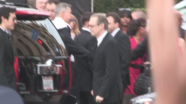 steve buscemi exchanges greetings with fans at 21st annual the sag awards in los angeles celebrity sightings in los angeles ca on - steve buscemi stock videos and b-roll footage