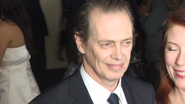 steve buscemi, jo andres at the 63rd annual directors guild of america awards at hollywood ca. - steve buscemi stock videos & royalty-free footage
