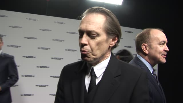 steve buscemi on 'the boardwalk empire' at the sky atlantic hd launch: at london england. - steve buscemi stock videos & royalty-free footage