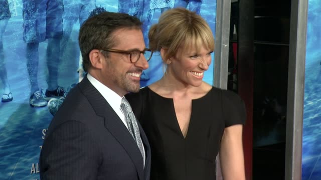 """steve carell and toni collette at """"the way, way back """" new york premiere """"the way, way back """" new york premiere on june 26, 2013 in amc loews lincoln... - toni collette stock videos & royalty-free footage"""