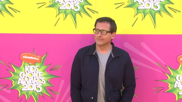 steve carell at nickelodeon's 26th annual kids' choice awards 3/23/2013 in los angeles, ca. - nickelodeon stock videos & royalty-free footage