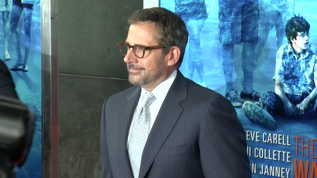 steve carell at the way way back new york premiere on june 26 2013 in amc loews lincoln square new york new york - amc loews stock videos and b-roll footage