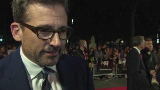 INTERVIEW Steve Carell on his performance on the prosthetic he wore what it was like on set working with Vanessa Redgrave if he's ready for award...