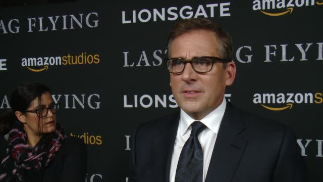 stockvideo's en b-roll-footage met interview steve carell on why this is an important story to tell what made him want to bring this character to life and talks about working with the... - richard linklater
