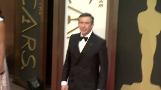 steve coogan - 86th annual academy awards - arrivals at hollywood & highland center on march 02, 2014 in hollywood, california. - steve coogan stock videos & royalty-free footage