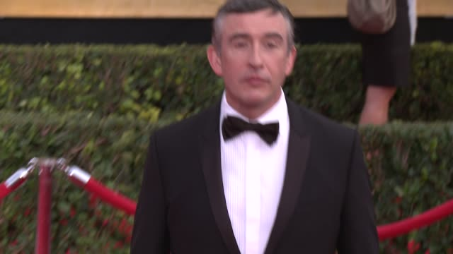 steve coogan at 20th annual screen actors guild awards - arrivals at the shrine auditorium on in los angeles, california. - steve coogan stock videos & royalty-free footage