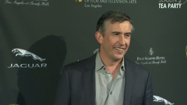 steve coogan at bafta 2014 awards season tea party at four seasons hotel los angeles at beverly hills on in beverly hills, california. - steve coogan stock videos & royalty-free footage
