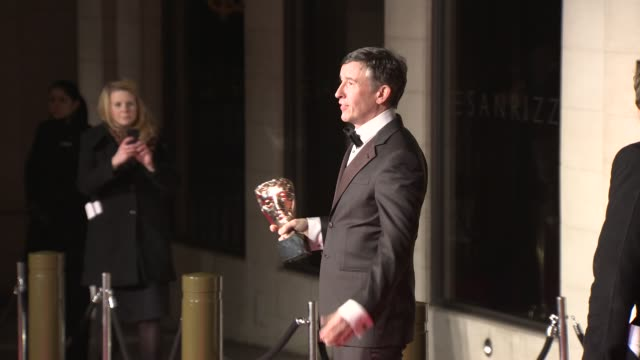 stockvideo's en b-roll-footage met steve coogan at bafta after party at on february 16 2014 in london england - steve coogan