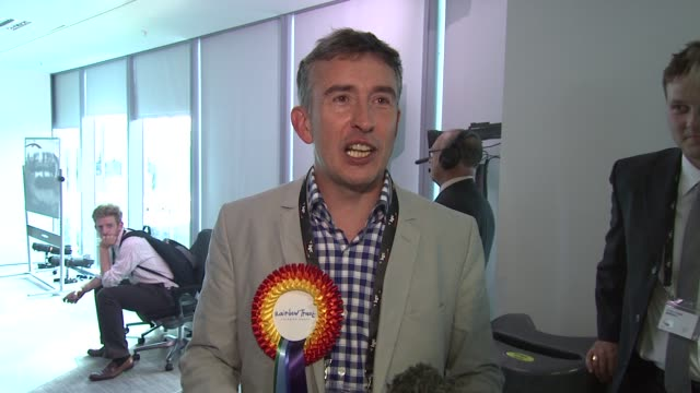 vidéos et rushes de steve coogan at bgc annual global charity day at bgc partners on september 11 2012 in london england - steve coogan