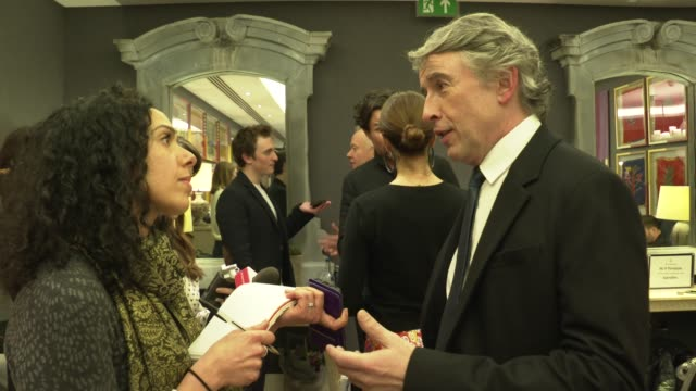 steve coogan at 'greed' special screening at ham yard hotel on february 12 2020 in london england - steve coogan stock videos & royalty-free footage