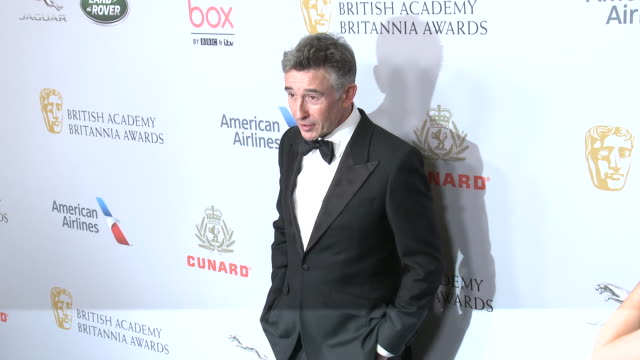 steve coogan at the 2019 british academy britannia awards presented by american airlines and jaguar land rover in los angeles, ca 10/25/19 - steve coogan stock videos & royalty-free footage