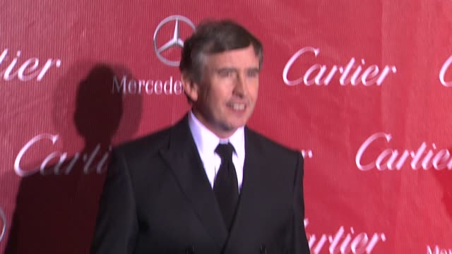 steve coogan at the 25th annual palm springs international film festival awards gala presented by cartier in palm springs, ca on 1/04/14 - steve coogan stock videos & royalty-free footage