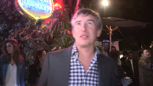 vidéos et rushes de steve coogan departing the w magazine party at chateau marmont at celebrity sightings los angeles on in los angeles california - steve coogan
