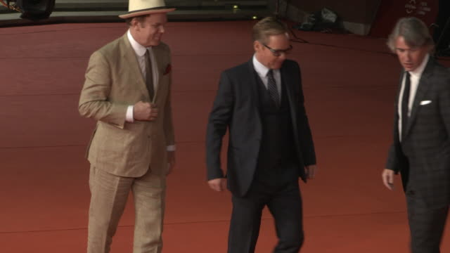 steve coogan john c reilly jon s baird at stan ollie red carpet arrivals 13th rome film fest on october 24 2018 in rome italy - rome film fest stock videos and b-roll footage