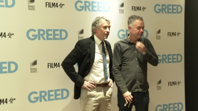steve coogan, michael winterbottom at 'greed' special screening at ham yard hotel on february 12, 2020 in london, england. - steve coogan stock videos & royalty-free footage