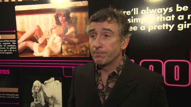 vidéos et rushes de interview steve coogan on making the film and on portraying paul raymond at 'the look of love' uk film premiere in london england uk on 4/15/2013 - steve coogan