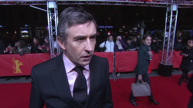 vidéos et rushes de interview steve coogan on the story his character and the british outlook on sex 'the look of love' premiere 63rd berlinale international film... - steve coogan