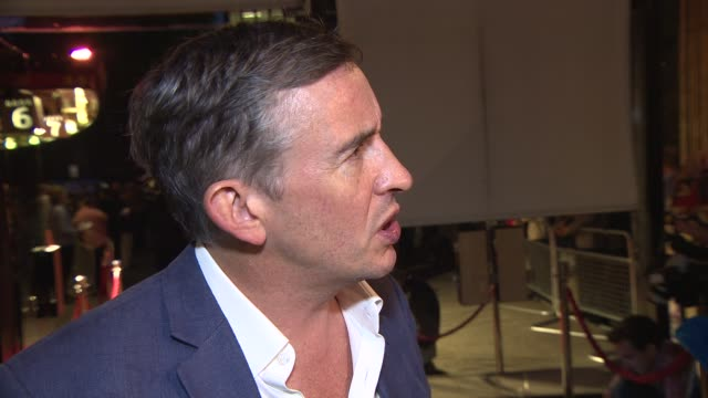 steve coogan on what film roles he will remember michael caine for at a night out with… sir michael caine - steve coogan stock videos & royalty-free footage