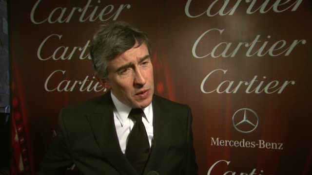 vidéos et rushes de interview steve coogan on why he was compelled to write philomena at the 25th annual palm springs international film festival awards gala presented... - steve coogan