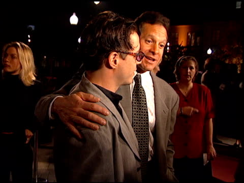 steve guttenberg at the 'home for the holidays' premiere at paramount studios in hollywood california on october 30 1995 - paramount studios stock videos and b-roll footage