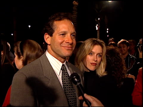 steve guttenberg at the 'home for the holidays' premiere at paramount studios in hollywood, california on october 30, 1995. - スティーヴ グッテンバーグ点の映像素材/bロール