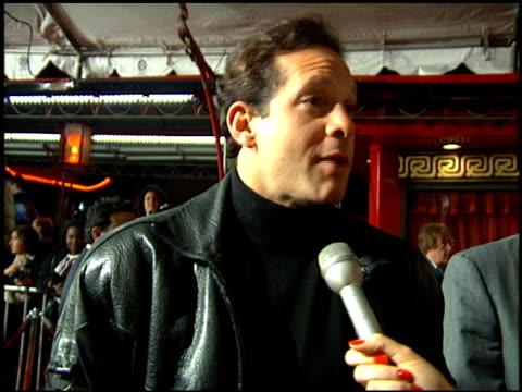 steve guttenberg at the 'sugar hill' premiere on february 23, 1994. - スティーヴ グッテンバーグ点の映像素材/bロール