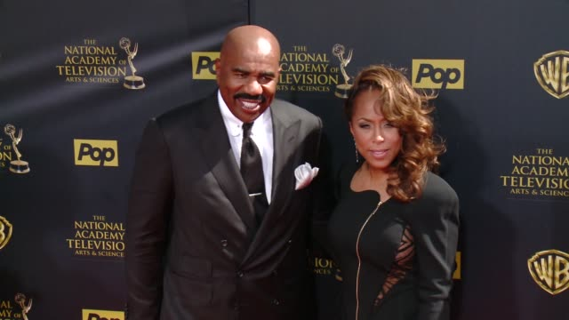 Steve Harvey at 42nd Annual Daytime EMMY Awards at Warner Bros Studios on April 26 2015 in Burbank California