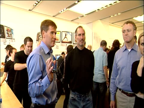 Steve Jobs at the launch of the iPhone London 28 Oct 2007