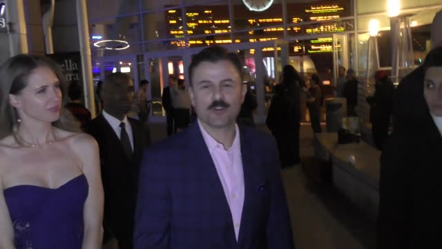 steve lemme leaves the super troopers 2 premiere at arclight cinemas in hollywood in celebrity sightings in los angeles - super troopers 2 stock videos & royalty-free footage