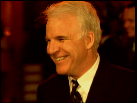 steve martin at the 1996 academy awards vanity fair party at morton's in west hollywood california on march 25 1996 - 68th annual academy awards stock videos and b-roll footage