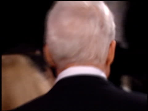 steve martin at the american comedy awards at the shrine auditorium in los angeles california on february 6 2000 - スティーブ マーティン点の映像素材/bロール