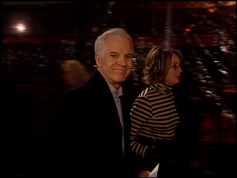 steve martin at the 'domestic disturbance' premiere at paramount studios in hollywood california on october 30 2001 - paramount studios stock videos & royalty-free footage